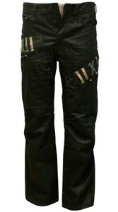Avoir Un Esprit De Recherche Garçons Noir Enduit Jeans Denim Jeans / Pantalon Jambe Droite Tailles 25 Au 29-afficher Le Titre D'origine