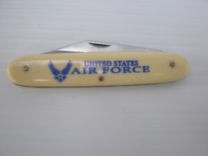 Frost Flying Falcon White Pocket Knife US AIR FORCE | eBay
