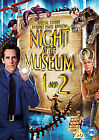Night At The Museum / Night At The Museum 2 - Escape From The Smithsonian (DVD, 2009, 2-Disc Set)