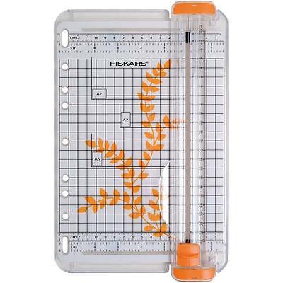 Fiskars Portable SureCut  A5/A4 Paper/Card Trimmer Cutter Acute/Precision F5446