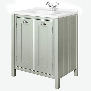 Painted-Bathroom-Furniture-700mm-2-Door-Vanity-Unit-Hand-Crafted-Pistachio
