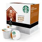 Starbucks House Blend Medium Roast Coffee Keurig K-Cups, 16 Count