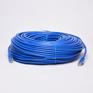 300-FT-CAT6-CAT6E-RJ45-UTP-Network-LAN-Patch-Ethernet-Cable-Snagless-Cord-Blue