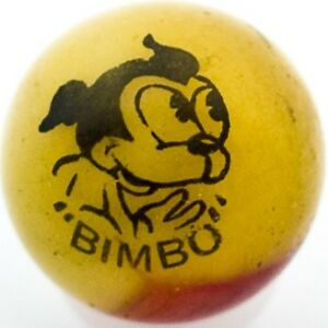 11-16-Peltier-Comic-Marble-Bimbo-Yellow-Red-RARE