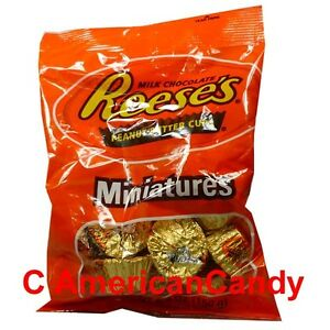 Mantequilla-De-Cacahuete-Bombones-3x-150-G-Reese-039-s-Peanut-Butter-Cups