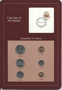 COIN-SETS-OF-ALL-NATIONS-Complete-KINGDOM-OF-TONGA