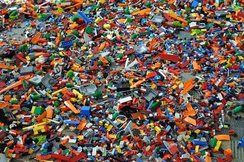 500+ LEGO Random Pieces - Free Shipping  Discount for multiple orders