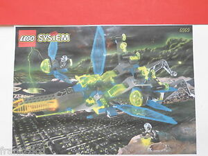 LEGO-Set-6969-Celestial-Stinger-Insectoids-SPACE-Droid-Silver-minifig-wing-1998