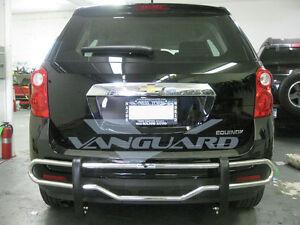 VANGUARD 10-16 CHEVY EQUINOX REAR BUMPER GRILL PROTECTOR GUARD DOUBLE TUBE S/S | eBay