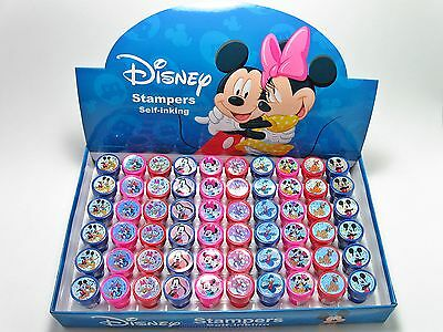24 Birthday Party Favors DISNEY MICKEY MOUSE & FRIENDS Self Ink Stamps Stampers