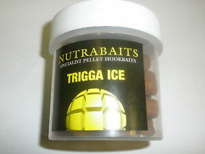 Nutrabaits-Anzuelo-Cebo-pellets-pesca-de-Carpa-Trigga-ICE