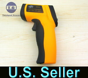 Non-Contact-IR-Infrared-Digital-Temperature-Gun-Thermometer-Laser-Point-GM300
