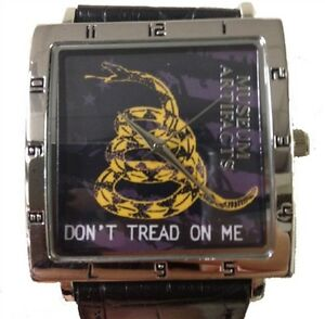 MUSEUM-ARTIFACTS-HISTORICAL-WATCH-DONT-TREAD-ON-ME