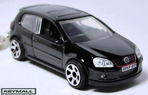 key chain black vw golf gti v volkswagen new porte cle. Black Bedroom Furniture Sets. Home Design Ideas