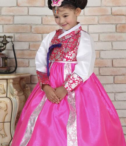 Korean Traditional Clothing Baby Hanbok Dress Girl Princess