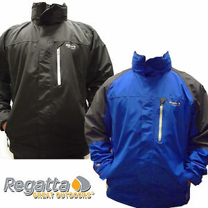 Regatta-Waycross-Isotex-5000-Mens-Waterproof-Breathable-Hooded-Jacket-Stretch