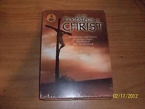 In-the-Footsteps-of-Jesus-Christ-5-Volume-Set-DVD-2005-5-Disc-Set-Digipak-NEW