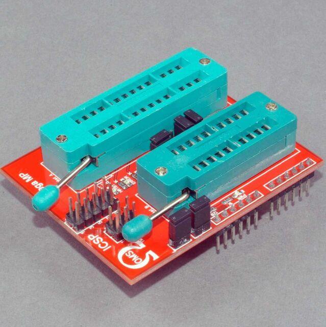 OMS Programmer Shield for Arduino  AVR  ATmega328  ATtiny85  ATtiny45 ATtiny2313