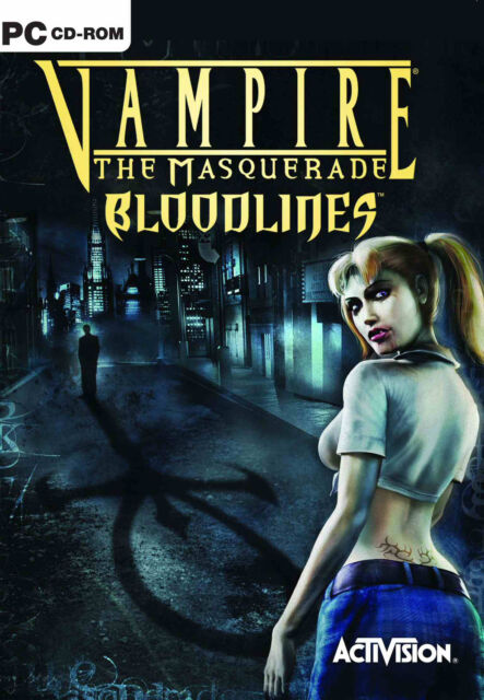 Vampire: The Masquerade - Bloodlines (PC, 2004, DVD-Box)