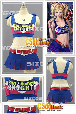 Lollipop Chainsaw Cheerleader Juliet Starling Cosplay Costume csddlink