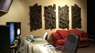 CityBlox Hybrid Acoustic Foam, Next Acoustics Studio PRO Performance Panels 24sf