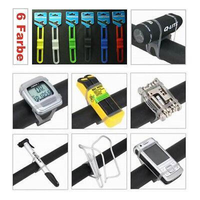 Fahrrad Halterung f. Flasche Handy Gps Navi MP3 Silikon 3052
