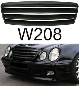 mercedes radiator grille clk w208 black brabus amg. Black Bedroom Furniture Sets. Home Design Ideas