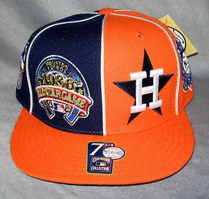 Mitchell-ness-amp-Cappello-Houston-ASTROS-su-misura-Berretto-da-Baseball