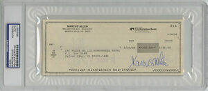 Marcus-Allen-SIGNED-Check-LA-Raiders-Chiefs-PSA-DNA-SLABBED-AUTOGRAPHED