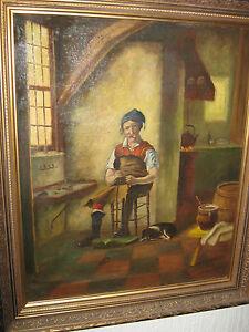 Oelgemälde Hendrikus Johannes Franciscus van Langen 1874 - 1964 - <span itemprop=availableAtOrFrom>Gronau, Deutschland</span> - Oelgemälde Hendrikus Johannes Franciscus van Langen 1874 - 1964 - Gronau, Deutschland