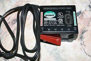 MODEL-POWER-HOBBY-TRANSFORMER-POWER-PACK-MODEL-RL-1250-MODEL-TRAIN-RAILROAD