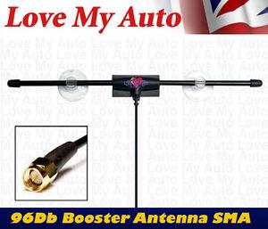 Zorro-SMA-12V-Booster-96db-Gain-Car-Digital-DVB-T-TV-FM-DAB-Antenna-Aerial-SMA