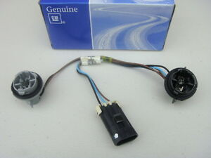 gmc chevy colorado front park turn signal sockets conector wiring new ebay
