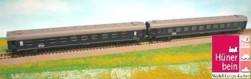 Heris 12214 NS 2er Set 2.Klasse Personen Wagen PlanN blå  grå Ep5 neu OVP