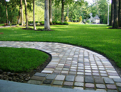 18+6 FREE 9x9 COBBLESTONE PAVERS MOLDS MAKE 1000s OF CONCRETE GARDEN PATIO FLOOR
