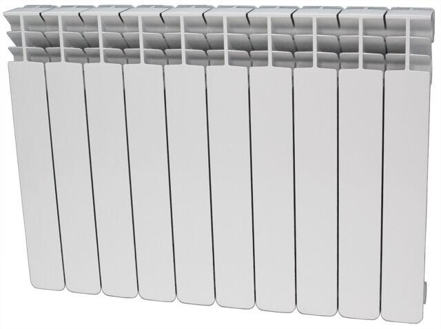 Aluminium Heizkörper Alice 350, 43cm Bauhöhe, Flachheizkörper, Kompakt