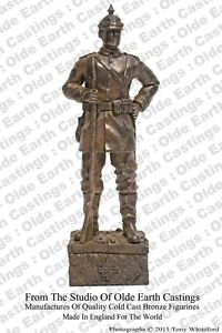 WW1-German-Soldier-Cold-Cast-Bronze-Military-Statue-Sculpture
