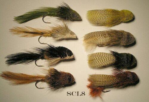 Sculpin //Zoo Cougar Assortment SCL8 Size #2   8 Flies