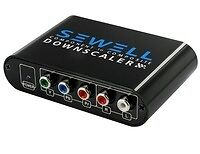 Component-YPbPr-RGB-RCA-to-Composite-Yellow-RCA-and-S-Video-w-Down-Scaler