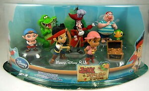 Disney-Store-Jake-and-the-Neverland-Pirates-PVC-Figurine-Figure-Playset-7-Pc-New