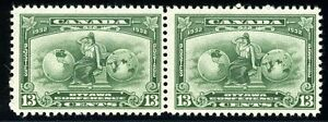 CANADA OTTAWA CONFERENCE SCOTT#194 PAIR OF STAMPS MINT NEVER HINGED