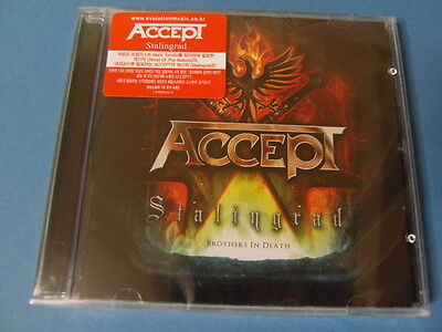 ACCEPT - STALINGRAD CD + BONUS TRACK (SEALED) $2.99 S&H