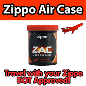 ZIPPO-LIGHTER-AIR-CASE-DOT-APPROVED-for-TRAVEL-AIRPORT-FLY-Carry