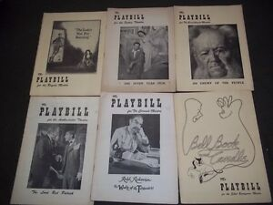 1950-039-S-PLAYBILL-LOT-OF-16-DIFFERENT-GREAT-TITLES-amp-NICE-ADS-O-1969