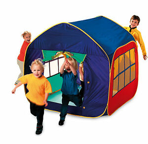 Childrens-Toddlers-Boys-Girls-Mega-Mansion-Extra-Large-Pop-Up-Play-House-Tent