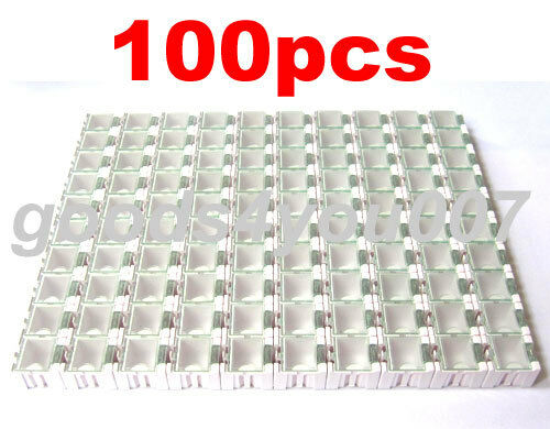 100pcs/Lot White Kit Components Boxes Laboratory Storage Box SMT SMD Kits