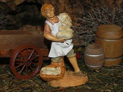 "3.5"" Euromarchi Nativity Cheese Maker Village Figurine for Presepio Pesebre"