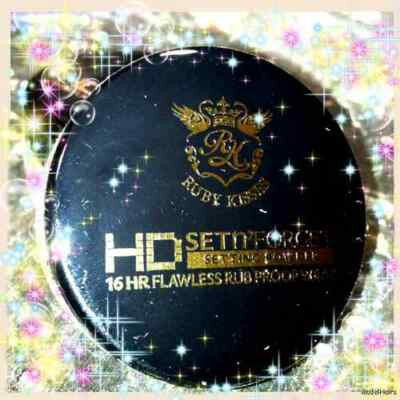 Ruby Kisses HD Set N' Forget Setting Powder RRSP01 INVISIBLE