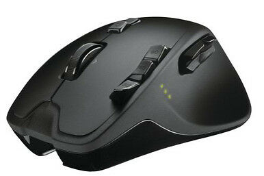 New Logitech G700 RF 2.4 GHz 5700 DPI Wireless Laser Gaming Mouse