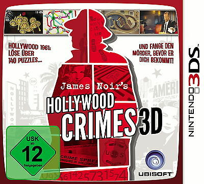 James Noir's Hollywood Crimes (Nintendo 3DS, 2011)